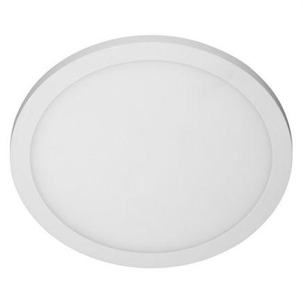 Rama - Plafonnier LED IP 65 Ø270x45 14W 3000K 1000lm 120° blanc