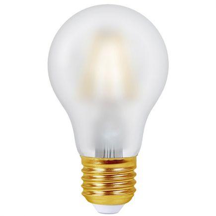 Ecowatts - Standard A60 Filament LED 8W E27 2700K 960Lm Mat