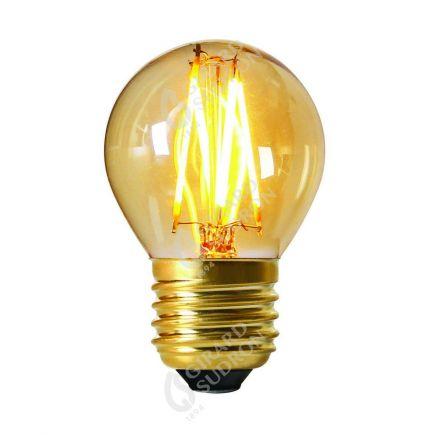 Sphérique G45 Filament LED 4W E27 2200K 260Lm Dim. Amb.