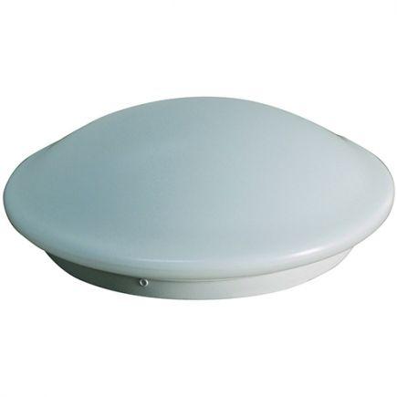 Dome - Plafonnier LED Ø350x115 18W 4000K 1500lm 120° avec détecteur de présence blanc