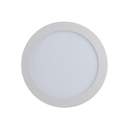 Kili - EcoWatts - Luminaire encastré LED Ø120x25 enc.Ø108 6W 4000K 440lm 110° blanc
