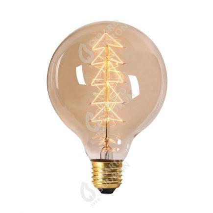 """Globe Filament Métallique """"Sapin"""" 40W E27 2000K 160Lm Amb."""