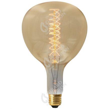 Lampe Poire R180 Filament Métallique Spiralé 40W E27 2000K 130Lm Amb.