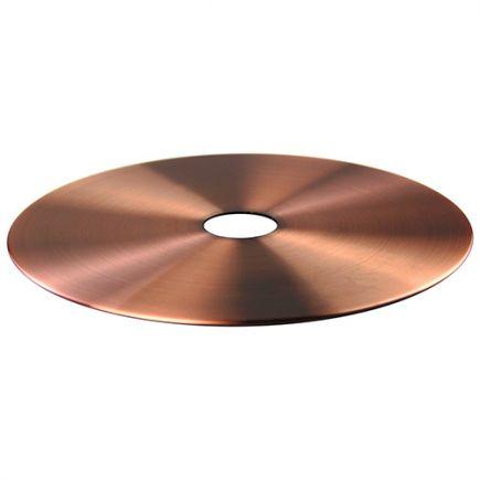 2 disques pour suspensions cuivre et noir ø 220 et 300mm