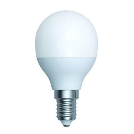 Ecowatts - Sphérique G45 LED 270° 5.5W E14 4000K 490Lm Opaline