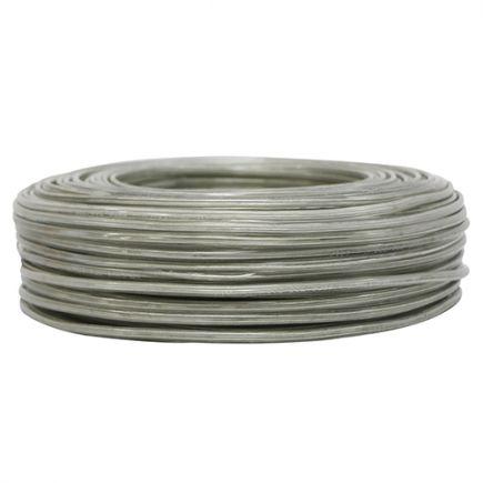Câble PVC ovale double isolation 2 x 0.5mm² L.100m cristal