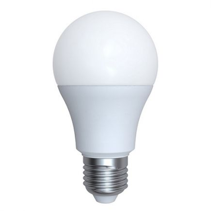 Ecowatts - Standard A60 LED 270° 6W E27 4000K 570Lm Opaline