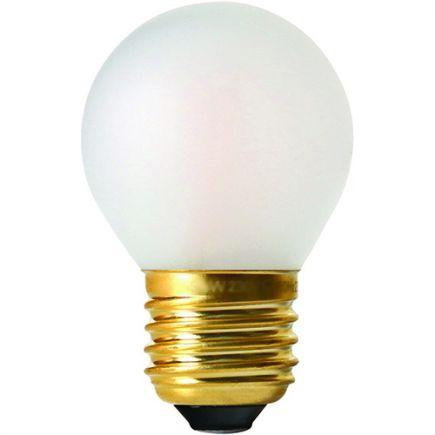 Sphérique G45 Filament LED 4W E27 2700K 330Lm Dim. Mat
