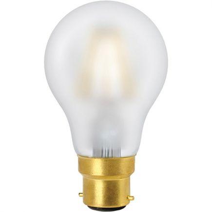 FS Ecowatts - Standard A60 Filament LED 6W B22 4000K 740Lm Mat.