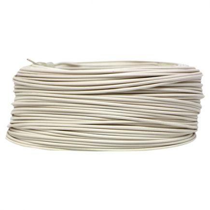 Câble PVC méplat 1 x 0.75mm² L.100m blanc