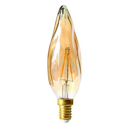 Flamme GS8 Filament LED 2W E14 2500K 200Lm Amb.