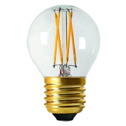 Sphérique G45 Filament LED 4W E27 2700K 350Lm Dim. Cl
