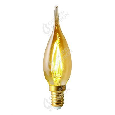 Flamme GS4 Filament LED 2W E14 2500K 200Lm Amb.