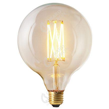 Globe G125 Filament LED 6W E27 2300K 450Lm Dim. Cl. RA>90
