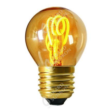 Sphérique G45 Filament LED LOOPS 2W E27 2000K 90Lm Amb.