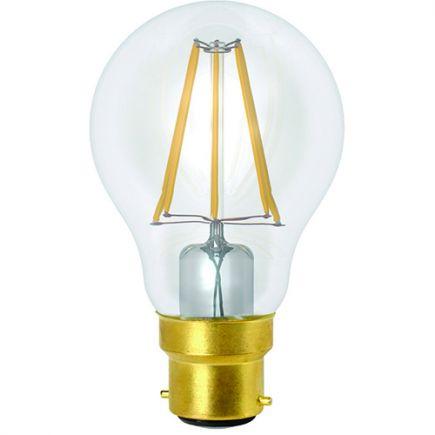 FS Ecowatts - Standard A60 Filament LED 6W B22 2700K 760Lm Cl.