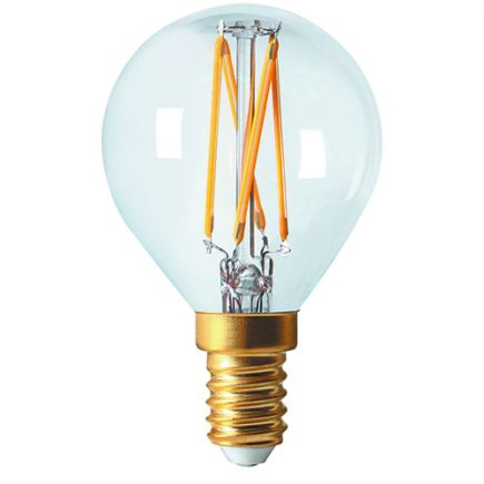 Sphérique G45 Filament LED 5W E14 2700K 610Lm Cl.