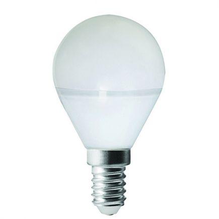 Sphérique G45 LED 330° 5W E14 2700K 400Lm Dépolie