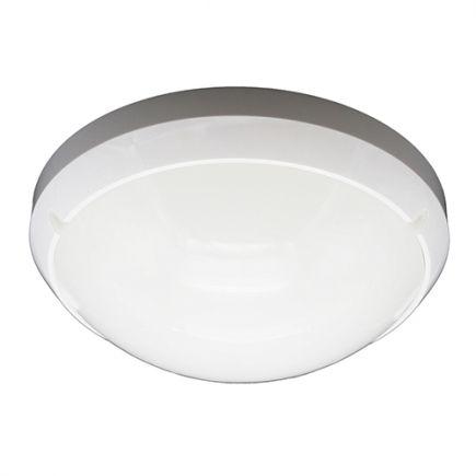 Luna - Plafonnier LED Ø300x90 16W 3000K 1200lm 160° blanc avec détecteur de présence