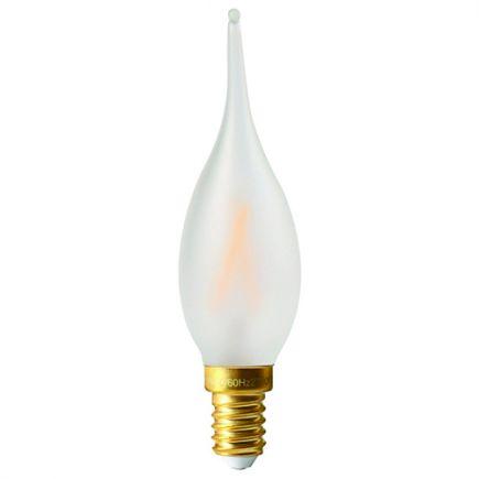 Flamme GS4 Filament LED 2W E14 2700K 210Lm Mat