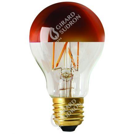 """Standard A60 Filament LED """"Calotte Bronze"""" 6W E27 2700K 750Lm Dim."""