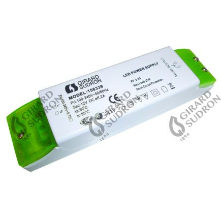 Driver for LED strip 12V 25W DC