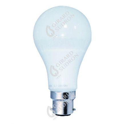Standard A65 LED 330° 12W B22 4000K 1055Lm Dépolie