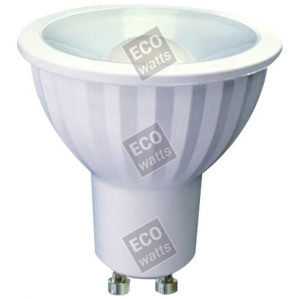 Ecowatts - Spot LED 7W GU10 2700K 580Lm 100° Cl.