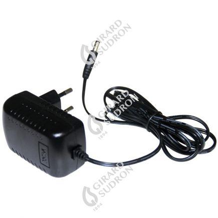 Mains battery charger eur pour projecteur LED portatif black