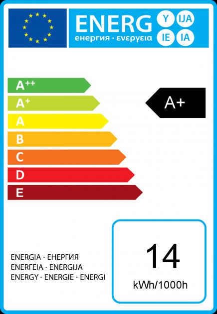 Standard A72 LED 330° 14W B22 2700K 1250Lm Dim. Dépolie