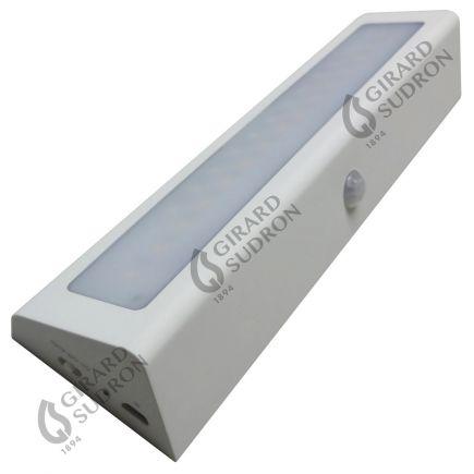 Menkar - Eclairage de meuble LED 210x55x30 1W 3000K 100lm 90° blanc