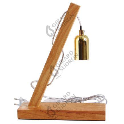 Axel - Luminaire en bois Douille E27 40W max