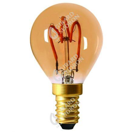 Sphérique G45 Filament LED LOOPS 2W E14 2000K 90Lm Amb.