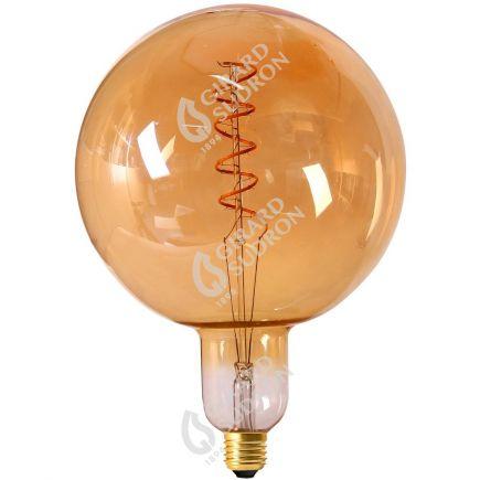 Globe G200 Filament LED TWISTED 6W E27 2000K 300Lm Dim. Amb.
