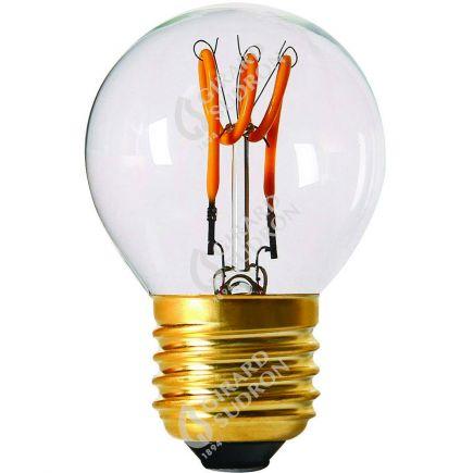 Sphérique G45 Filament LED LOOPS 2W E27 2200K 110Lm Cl.