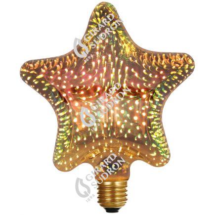 Ampoule D140 STAR Cosmos 3D 4W E27 2700K