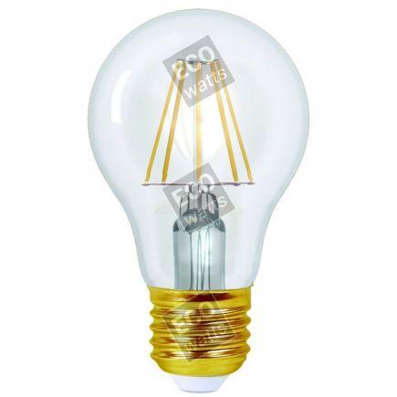 Ecowatts - Standard A60 Filament LED 6W E27 4000K 806Lm Cl.