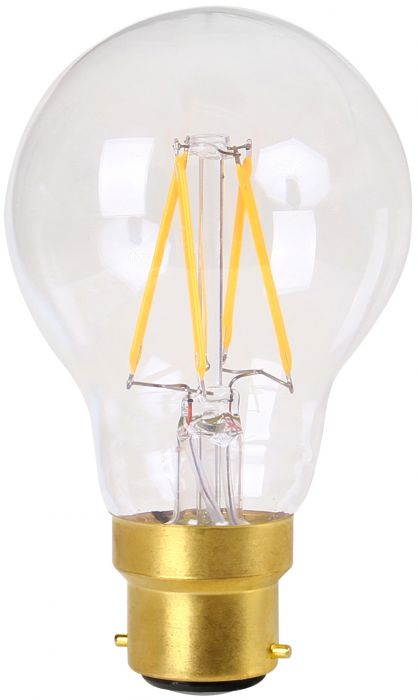 ECS - STANDARD FIL.LED 4W 240V B22 2700K CLAIR