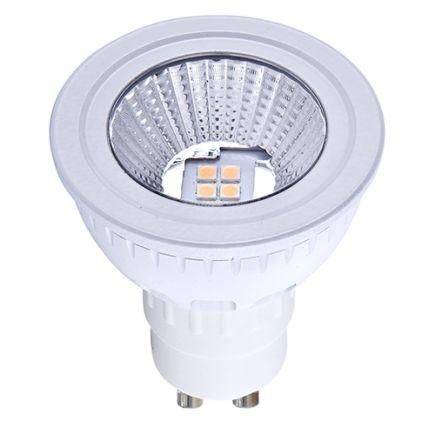 Spot LED 5W GU10 5000K 380Lm 70° Dim.