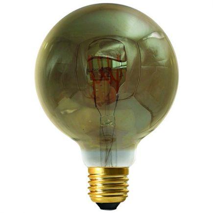 Globe G95 Filament Led 4 LOOPS 4W E27 2000K 160lm Dim. Smoky
