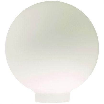 Verrerie Globe D100 p.vis 31,5mm Opaline