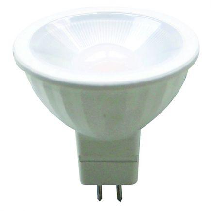 Spot LED 5W GU5.3 2700K 400Lm 100° Opaline
