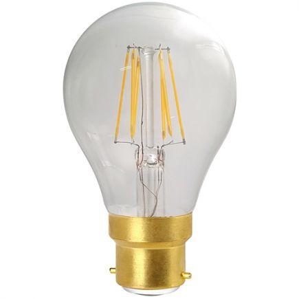 Standard A70 Filament LED 8W B22 2700K 1055Lm Cl.