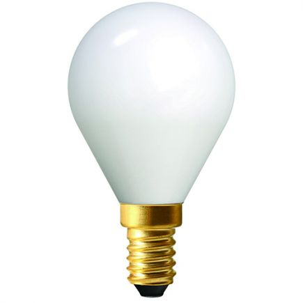 Sphérique G45 Filament LED 4W E14 2700K 400Lm Opaline