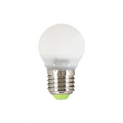 Sphérique G45 LED 330° 5W E27 4000K 410Lm Dépolie