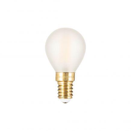 Sphérique G45 Filament LED 4W E14 2700K 300Lm Dim. Mat