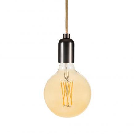 Globe G125 Filament LED 4W E27 2100K 260Lm Dim. Amb.