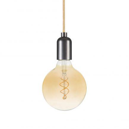 Globe G125 Filament LED TWISTED 5W E27 2000K 260Lm Amb.