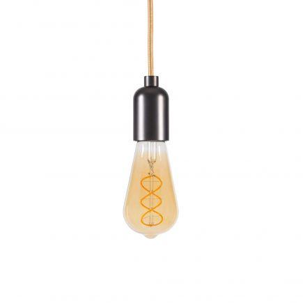 Edison Filament LED TWISTED 5W E27 2000K 260Lm Amb