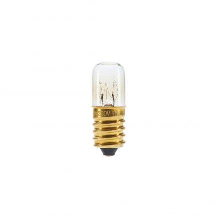 Lampe Tube Signalétique Incan. 15W E14 2750K 110 Dim. Cl.